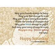 Saturday Blessings Quotes QuotesGram