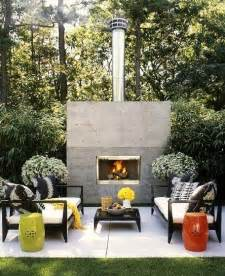 Modern Outdoor Fireplace Ideas by A Braai Area That Doubles As An Outdoor Fireplace For Cosy