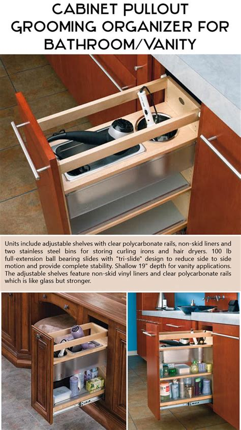 cabinet pull out grooming organizer for bathroom vanity top ten products ever neat freak needs
