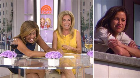 kathie lee gifford impersonation the bachelorette heats up watch hoda s recap of the