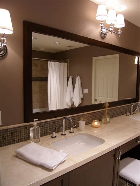 oversized bathroom mirror oversized custom mirror and wall mount sconces