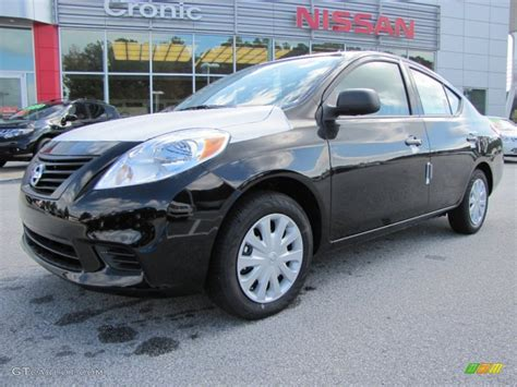 nissan versa black 2012 black nissan versa 1 6 s sedan 55235923 photo