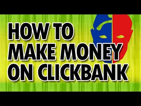 Make Money Online Blackhat - clickbank blackhat trick to make money make huge money on clickbank youtube