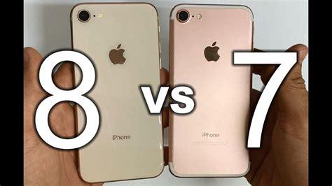 iphone 7 vs iphone 8 apple iphone 8 vs iphone 7 comparison