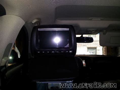 nissan dvd player format headrest install in 2005 nissan murano customer review