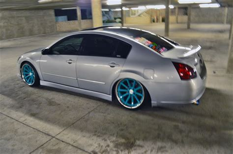stanced 2007 nissan maxima hero782 2007 nissan maximasl sedan 4d s photo gallery at