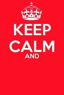 25 best ideas about keep calm template on pinterest