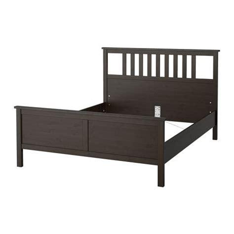 hemnes bed frame black brown hemnes bed frame black brown lur 246 y standard