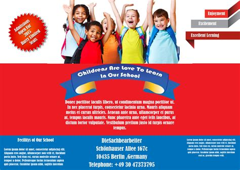 free flyers templates best free school flyer templates to light up your academic