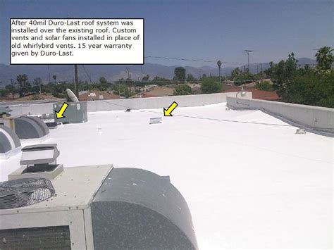 Duro Last Roofing Commercial Building Re Roof In Hemet Ca Woolbright S