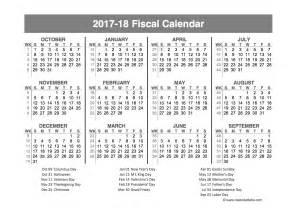 Fiscal Year 2018 Calendar Army Fiscal Calendar Calendar Template 2016