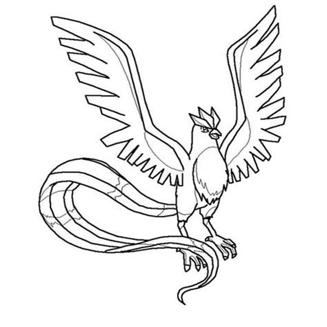 Articuno Coloring Pages the gallery for gt articuno coloring pages