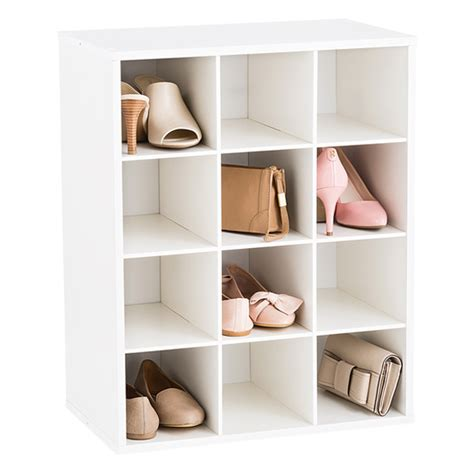 Ikea Paper Roll 12 pair shoe organizer the container store