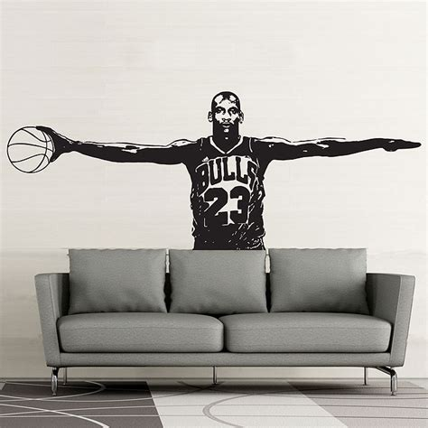 michael wall stickers michael wings vinyl wall decal