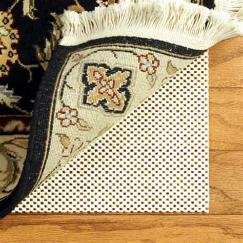 Keep Rug From Slipping On Carpet by Area Rug Pad 5x8 Non Skid Slip Underlay Nonslip Pads