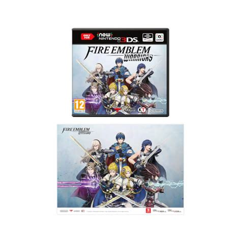 3ds Emblem Warriors Only For New 3ds And 2ds Xl Asia emblem warriors new nintendo 3ds a3 poster