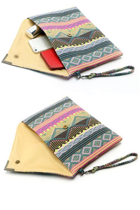 pattern envelope bag geometric pattern envelope clutch handbag purse tote bag