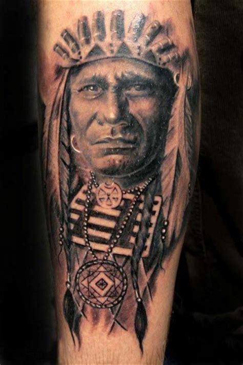 american art tattoo ink on american indians