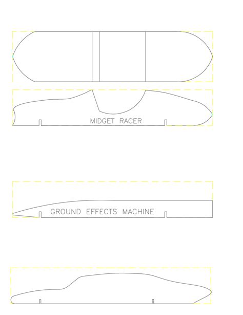 derby car design templates pinewood derby car templates lisamaurodesign