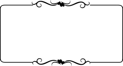 Wedding Border Design Black And White by 14 Best Images About Hearts On Free Clipart