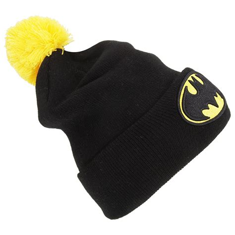 knitted batman hat batman adults official knitted beanie hat one