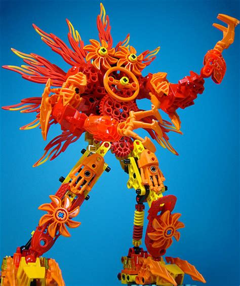 Lego Vire Monsters talk about a flamer gearfuse