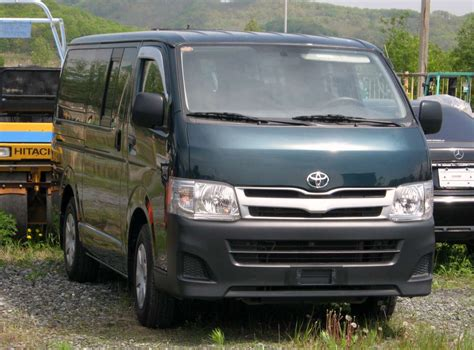 2010 Toyota Hiace 2010 Toyota Hiace Pictures 2 5l Diesel Fr Or Rr