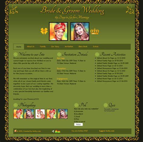 theme quiz online personalised wedding website online themes blessbook
