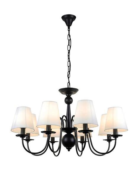 black iron chandelier golden lighting madera 9 light