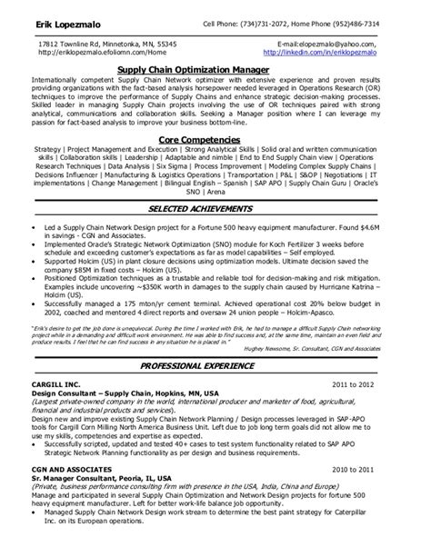 Resume Information Security Ldap J2ee Mi supply chain analyst resume cover letter
