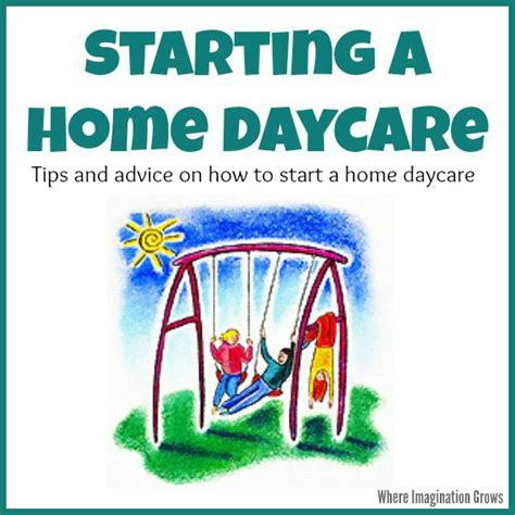 how to start a daycare how to start a daycare start a home daycare daycare pdf