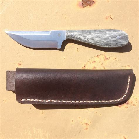 Jk Handmade Knives - jk handmade knives backup w leather free shipping