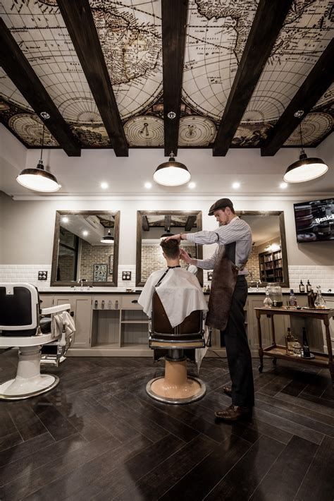 barber downtown brton daniel malik design portfolio barbershop design