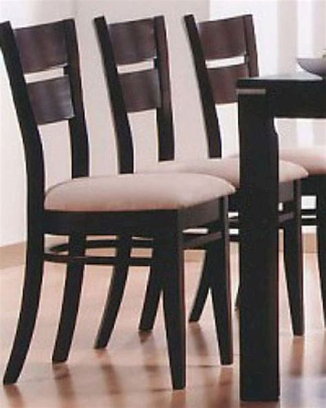 occasional dining chairs occasional dining dining chair in cappuccino set of 2