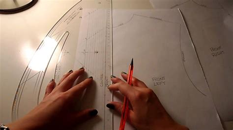 pattern cutting video tutorial pattern cutting tutorial how to draft a basic shirt