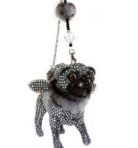 fuzzy nation pug umbrella fuzzy nation black pug wristlet purse wallet black pugs purse wallet