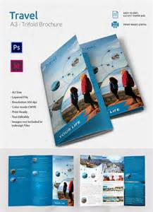 free travel brochure template 46 travel brochure templates free sle exle