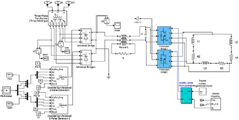 three phase induction motor in matlab matlab simulink model of three phase induction furnace