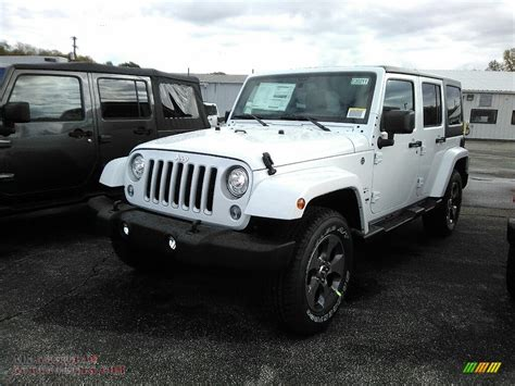 white jeep 2018 2018 jeep wrangler unlimited 4x4 in bright white