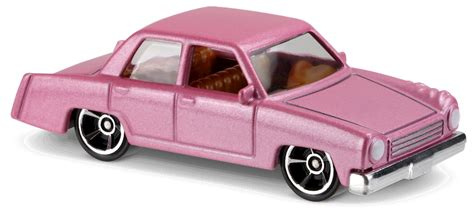 Wheels The Simpsons Homer Family Car Pink Sedan 2017 Hw Miniature the simpsons family car in pink hw screen time car collector wheels