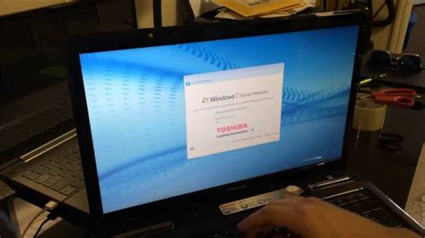 how to restore reset a toshiba satellite to factory settings windows 7
