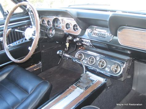 sold  ford mustang fastback maple hill restoration