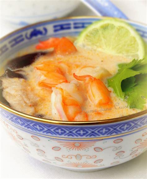 lait de coco cuisine soupe tha 239 e au lait de coco