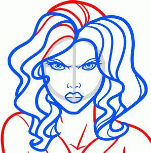 draw avengers characters iron man hulk  america thor black widow wissen