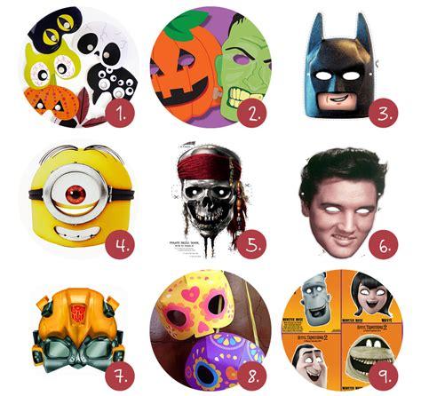 Masker Vir scary maskers om zelf te maken like it