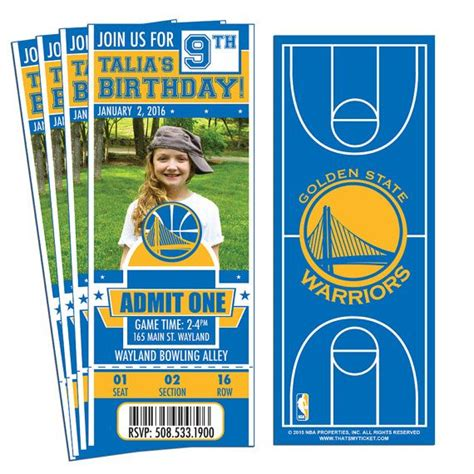 25 Best Ideas About Golden State Warriors Tickets On Pinterest Golden State Tickets Warriors Nba Ticket Template