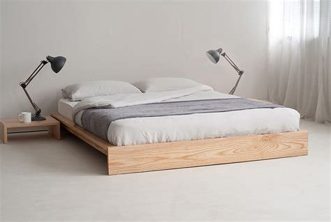 how to make a low profile bed frame