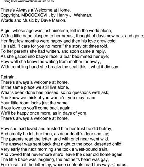 welcome home lyrics kentucky mountain trio grcom info