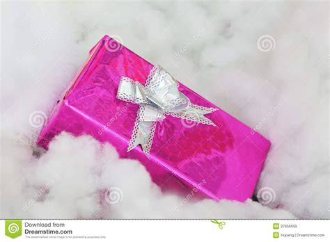 pink christmas gift box royalty free stock images image