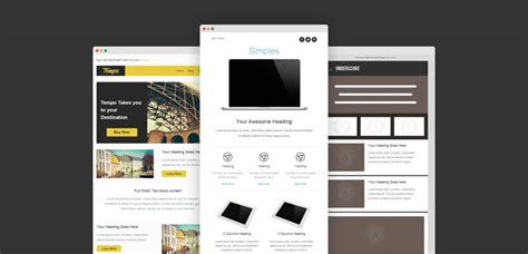 30 free responsive email templates idevie